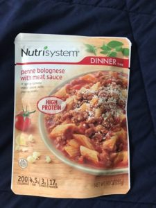 Nutrisystem - Penne Bologesie with Meat Sauce