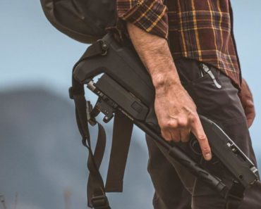 Magpul X-22 Backpacker Stock Being Carried
