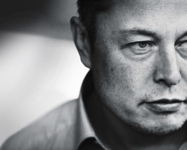 Elon Musk Black and White Photograph For SpaceX