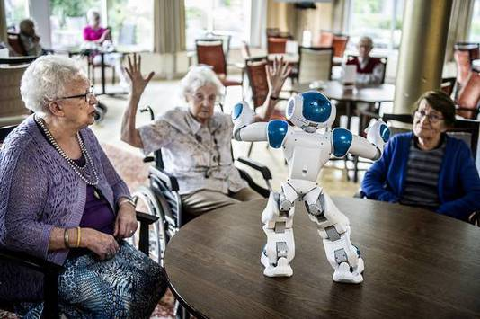 Robot in a nursing home
